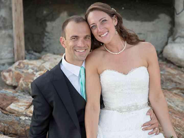 The wedding of Nick and Kim