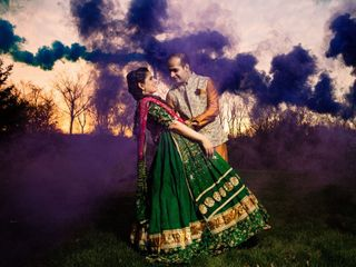 The wedding of Sawina and Karan 1