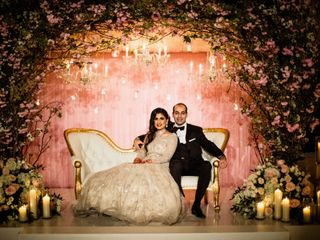 The wedding of Sawina and Karan