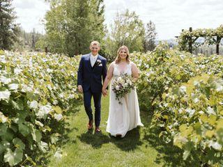 The wedding of Cassie and Alexx