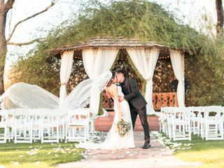 The wedding of Lupita and David