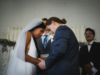 The wedding of Aaleiyah and Broc 2