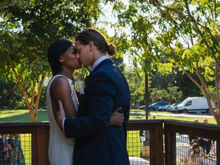 The wedding of Aaleiyah and Broc