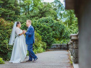 The wedding of Daniela and Michael