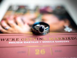 The wedding of Philicia and Seneca 2