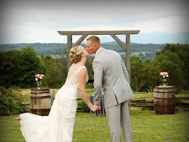 The wedding of Matt and Katie