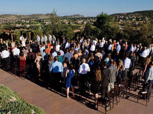 Bryan and Michelle's Wedding in Morrison, Colorado 16
