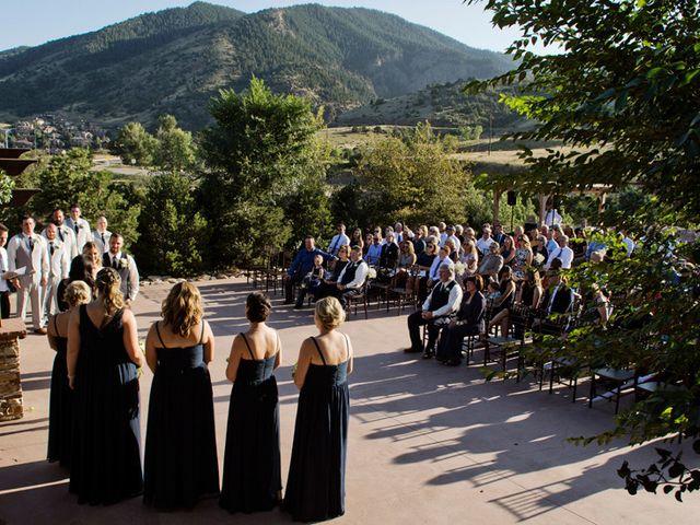 Bryan and Michelle's Wedding in Morrison, Colorado 18