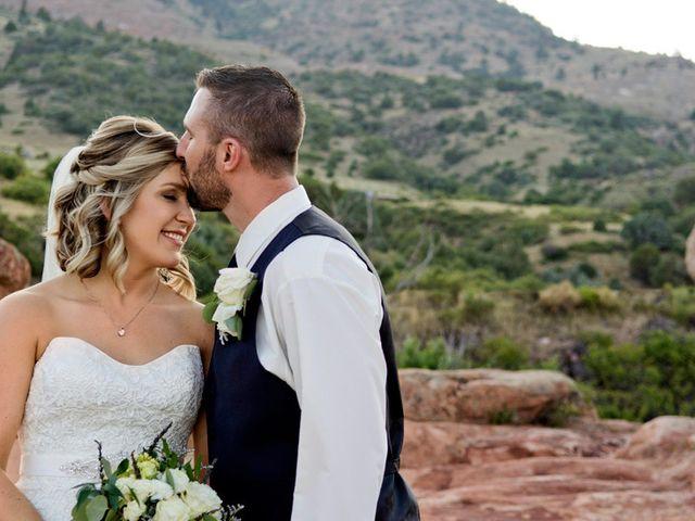 Bryan and Michelle's Wedding in Morrison, Colorado 20