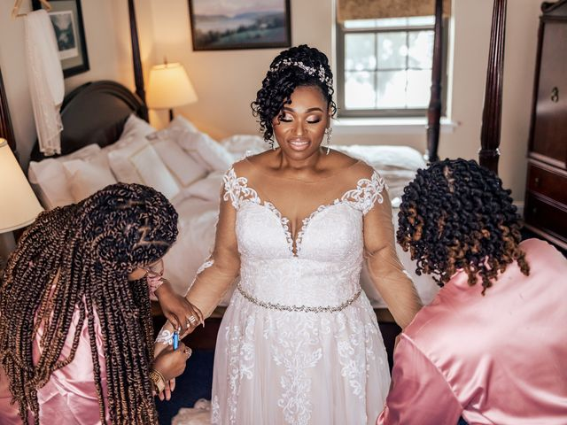 Seneca and Philicia's Wedding in West Point, New York 20