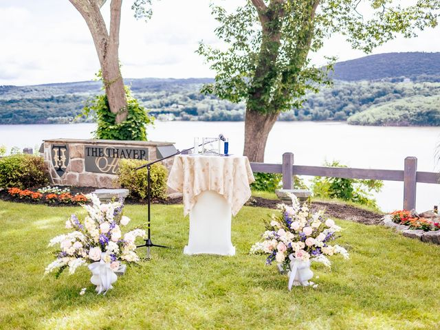 Seneca and Philicia's Wedding in West Point, New York 36