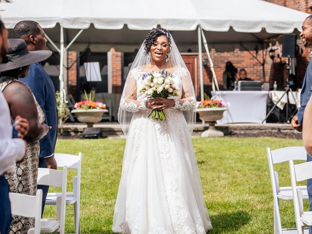 Seneca and Philicia's Wedding in West Point, New York 38