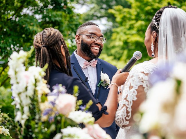Seneca and Philicia's Wedding in West Point, New York 41
