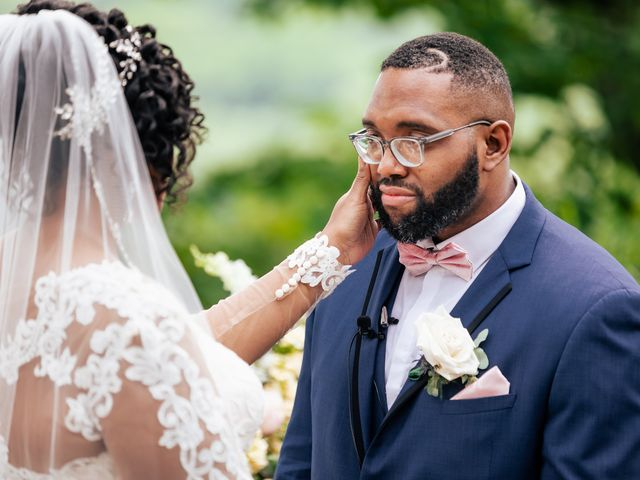 Seneca and Philicia's Wedding in West Point, New York 42