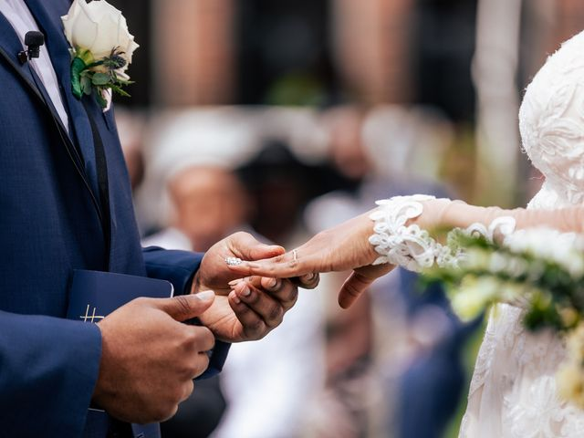 Seneca and Philicia's Wedding in West Point, New York 43