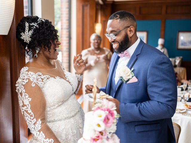 Seneca and Philicia's Wedding in West Point, New York 54