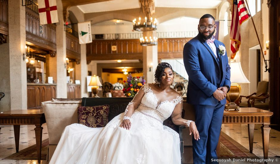 Seneca and Philicia's Wedding in West Point, New York