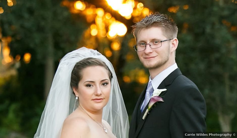 Krystal and Tylor's Wedding in Dover, Florida