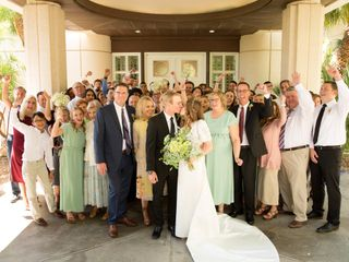 The wedding of Hannah and Spencer 1
