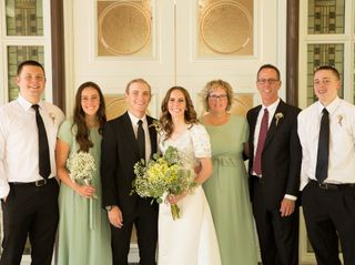 The wedding of Hannah and Spencer 2