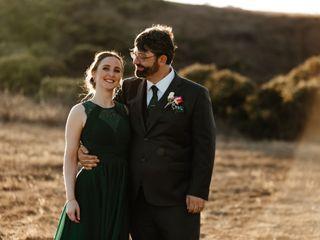The wedding of Elizabeth and Derek