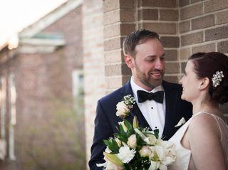 The wedding of Amy and Chris
