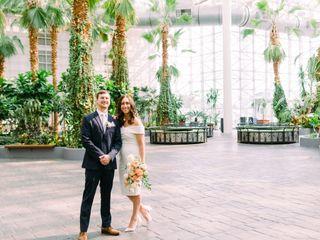 The wedding of Jessica and Aaron