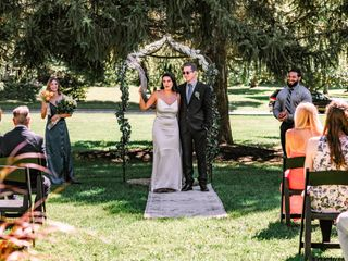 The wedding of Gazelle and Jason 2