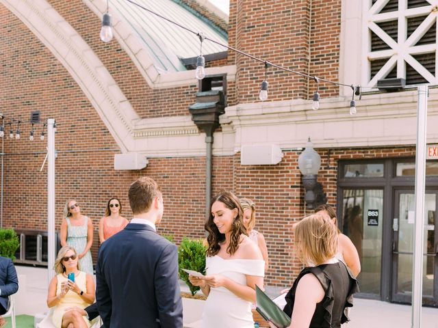 Aaron and Jessica's Wedding in Chicago, Illinois 23