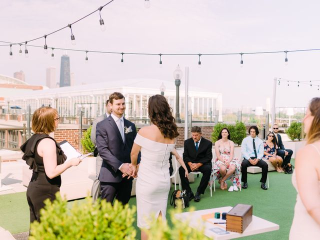 Aaron and Jessica's Wedding in Chicago, Illinois 24