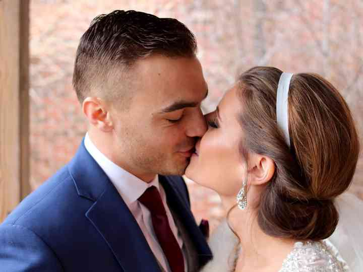 The wedding of Sara and Matt