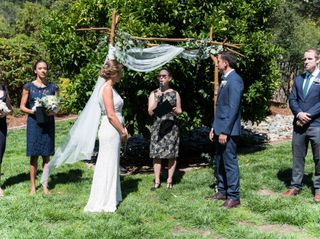 The wedding of Eliza and Erik 1