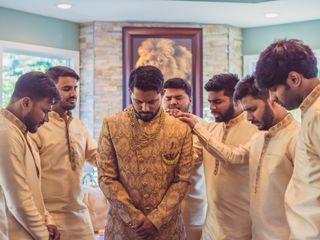 The wedding of John and Mano 3