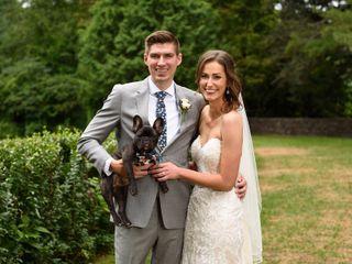 The wedding of Kristin and Joe