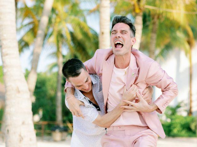 Jon and Tom's Wedding in Holbox Island, Mexico 11