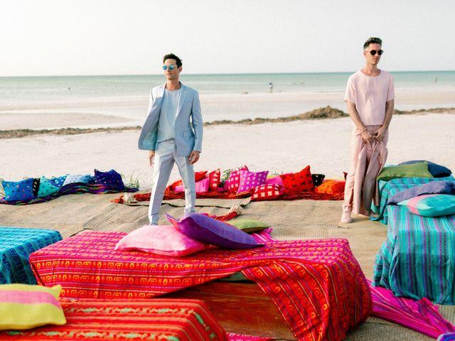 Jon and Tom's Wedding in Holbox Island, Mexico 12