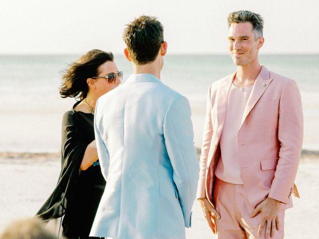 Jon and Tom's Wedding in Holbox Island, Mexico 21