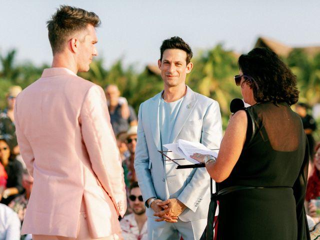 Jon and Tom's Wedding in Holbox Island, Mexico 27