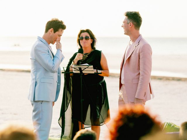Jon and Tom's Wedding in Holbox Island, Mexico 30