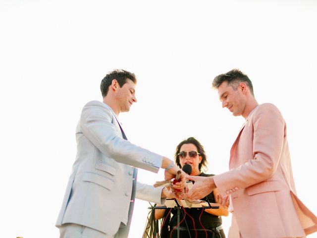 Jon and Tom's Wedding in Holbox Island, Mexico 34