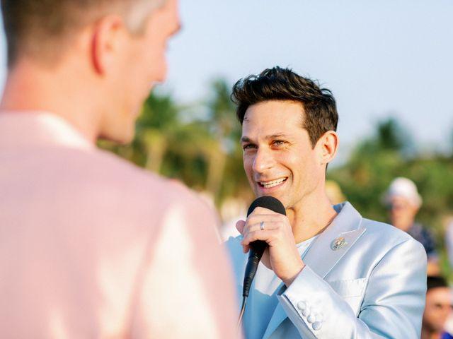 Jon and Tom's Wedding in Holbox Island, Mexico 40