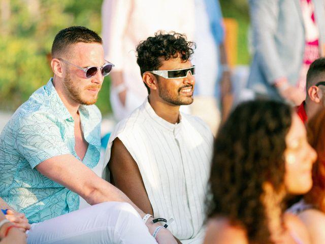 Jon and Tom's Wedding in Holbox Island, Mexico 43
