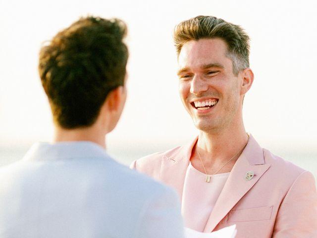 Jon and Tom's Wedding in Holbox Island, Mexico 46