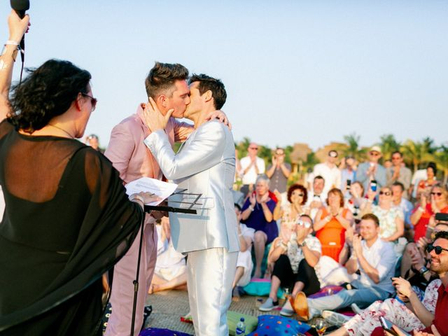 Jon and Tom's Wedding in Holbox Island, Mexico 49