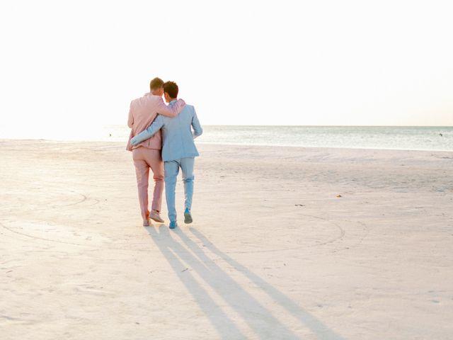 Jon and Tom's Wedding in Holbox Island, Mexico 50