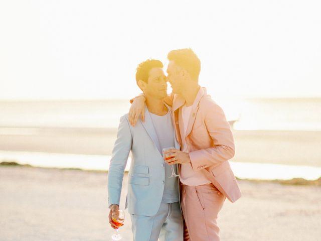 Jon and Tom's Wedding in Holbox Island, Mexico 52