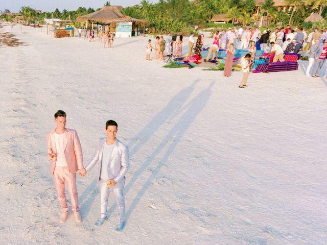 Jon and Tom's Wedding in Holbox Island, Mexico 54