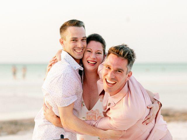 Jon and Tom's Wedding in Holbox Island, Mexico 57