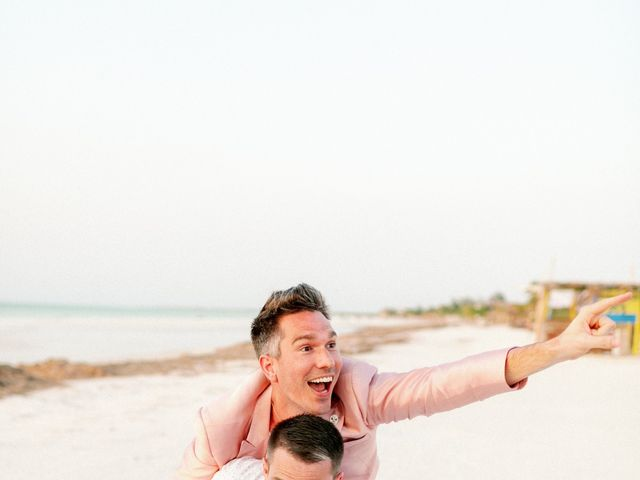 Jon and Tom's Wedding in Holbox Island, Mexico 59
