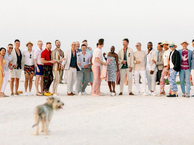 Jon and Tom's Wedding in Holbox Island, Mexico 60